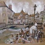 Les vieilles prisons, Annecy. Anne-Marie Prezzo