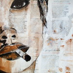 Cigarette - Technique mixte - Cathy Fauré