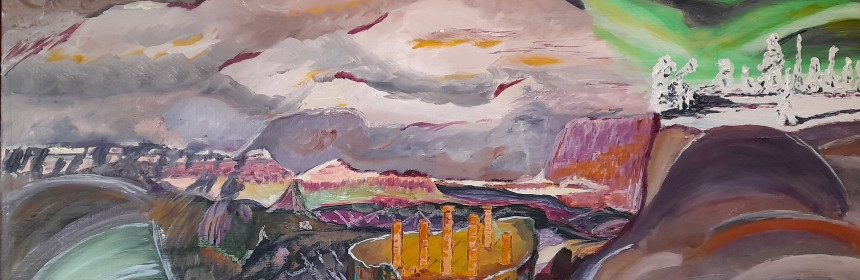 """Paysage"". Marie-Jo Bonnard"