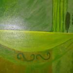 """""""Paysage"""". Acrylique sur toile. Jocelyne Falconnet"""