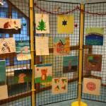 exposition de l'atelier enfants