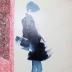 La Parisienne - Technique Mixte - Natacha TRABER