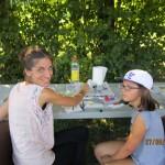 Fête dans le Parc des jardins de la Haute Savoie