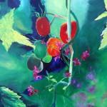 """Tomates ""50X50 Acrylique Toile"
