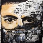 M.Jo BONNARD portrait muré
