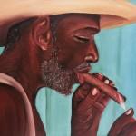 Le Cigare. Béatrice Perrier