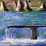"""Baleine"". Marie-Jo Bonnard"
