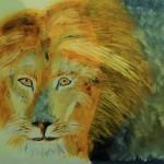 """""""Le lion"""". Marie-Jo Bonnard"""